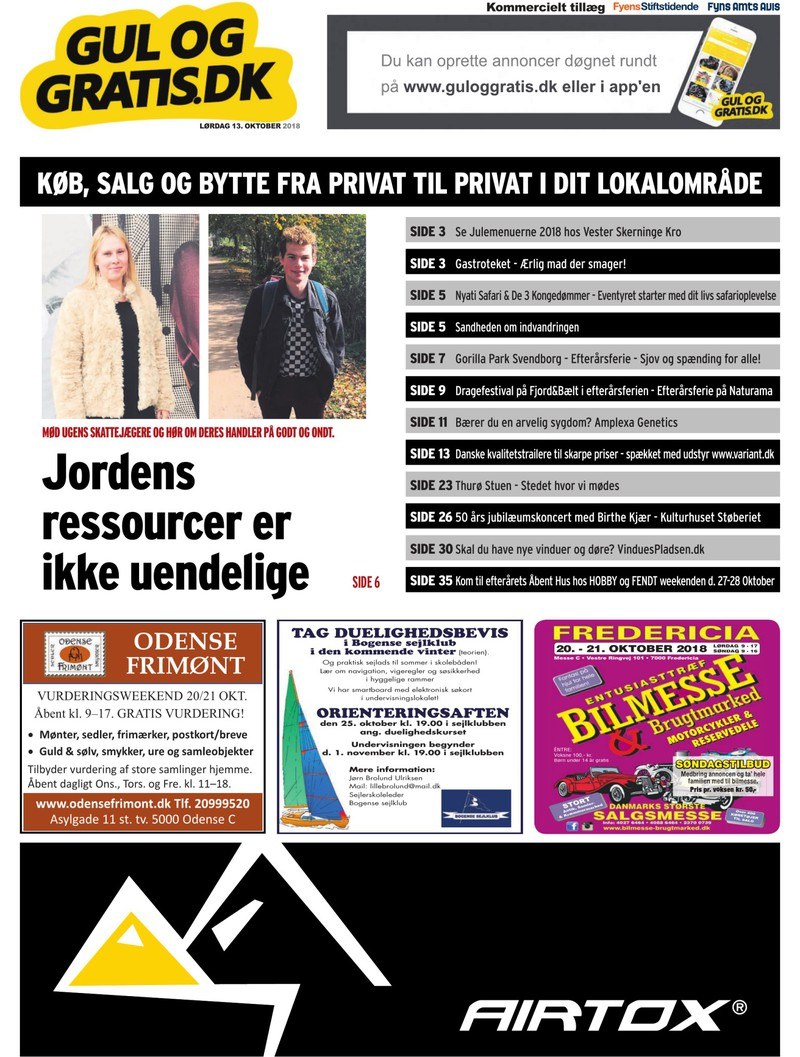 gul gratis avis