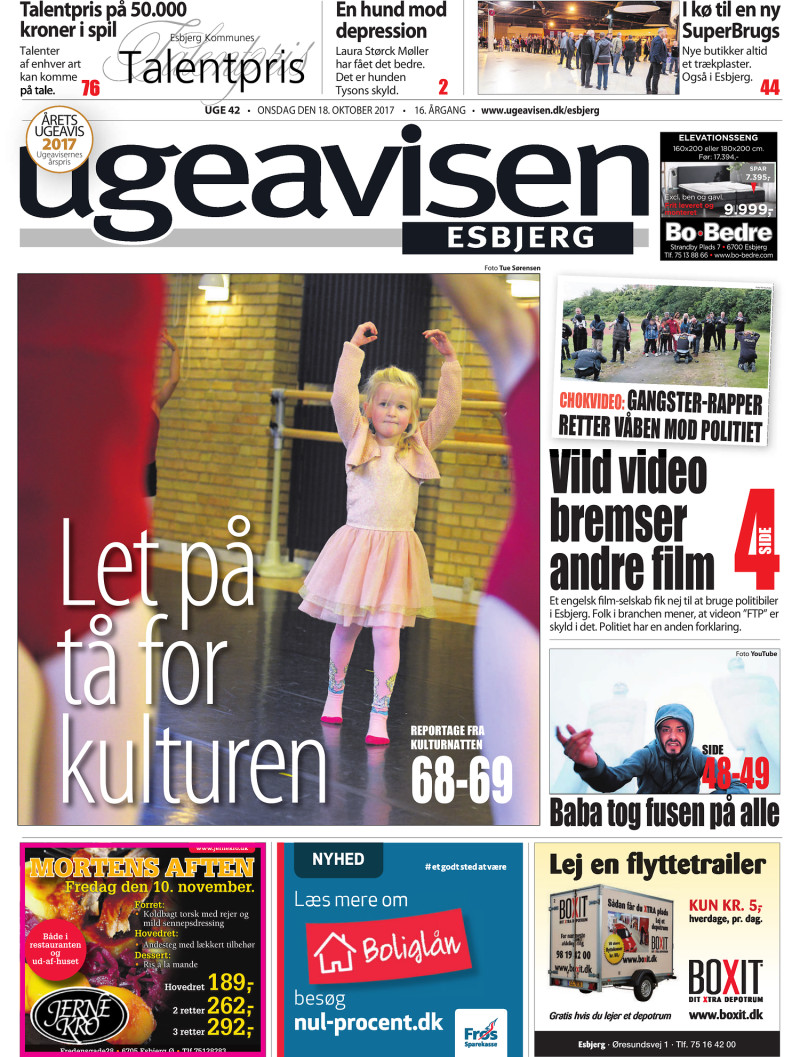 Ugeavisen Esbjerg 42 2017