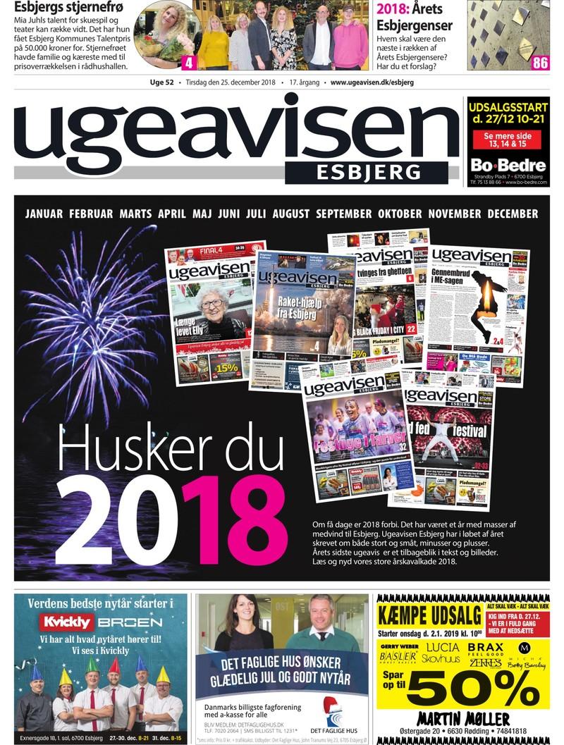 Ugeavisen Esbjerg 52 2018