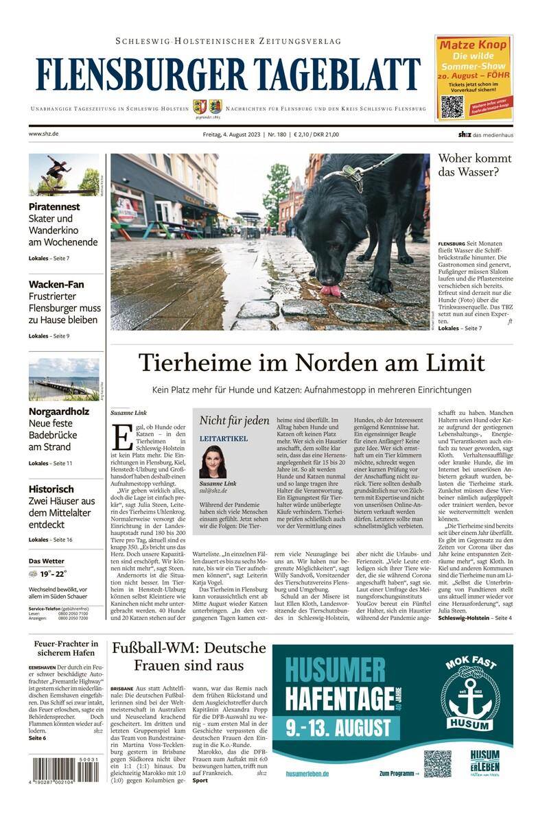 Flensburger Tageblatt: Nachrichten für Flensburg & Umgebung | shz.de