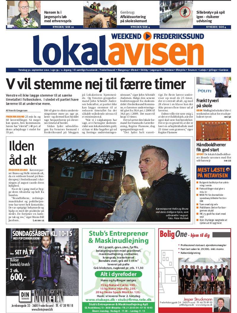 Lokalavisen.dk Frederikssundavis Weekend Uge 23