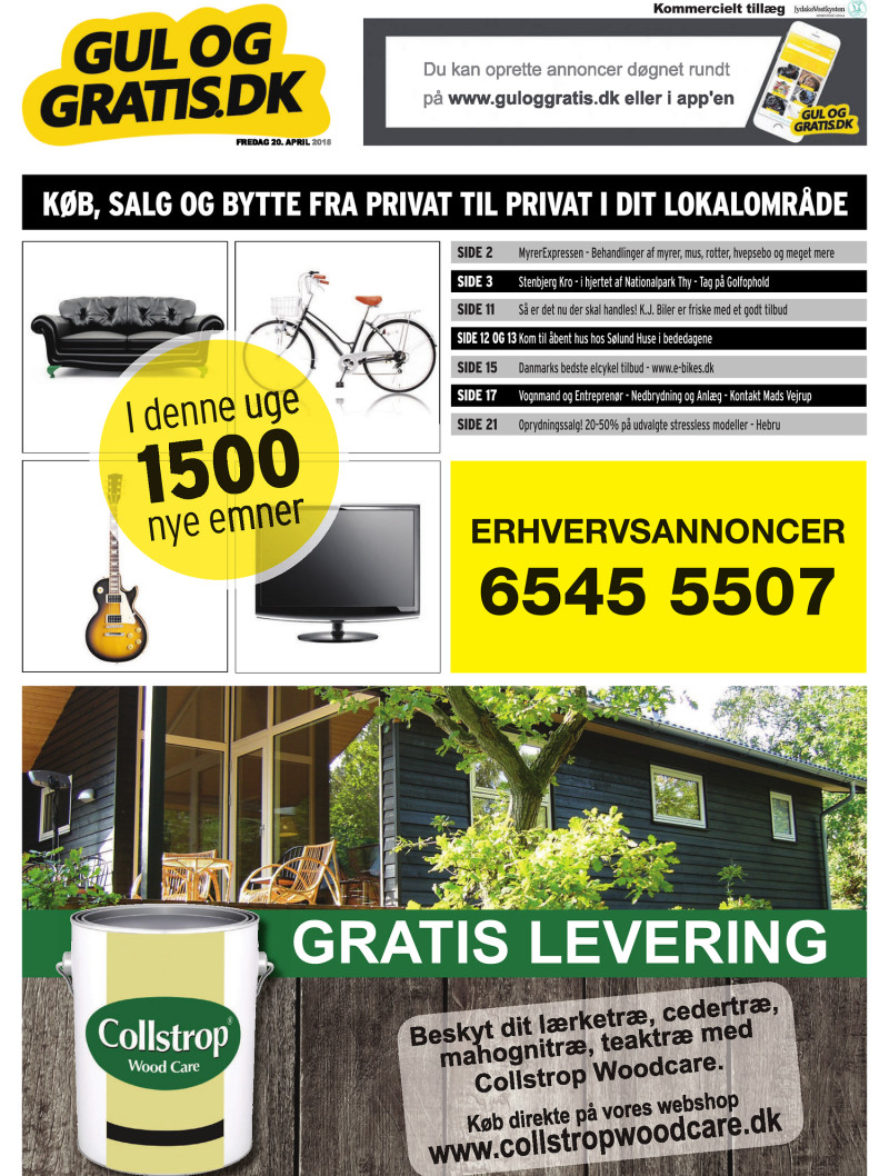 f3c88d5532e7 Gul og Gratis - Jydske Vestkysten - 20-04-2018