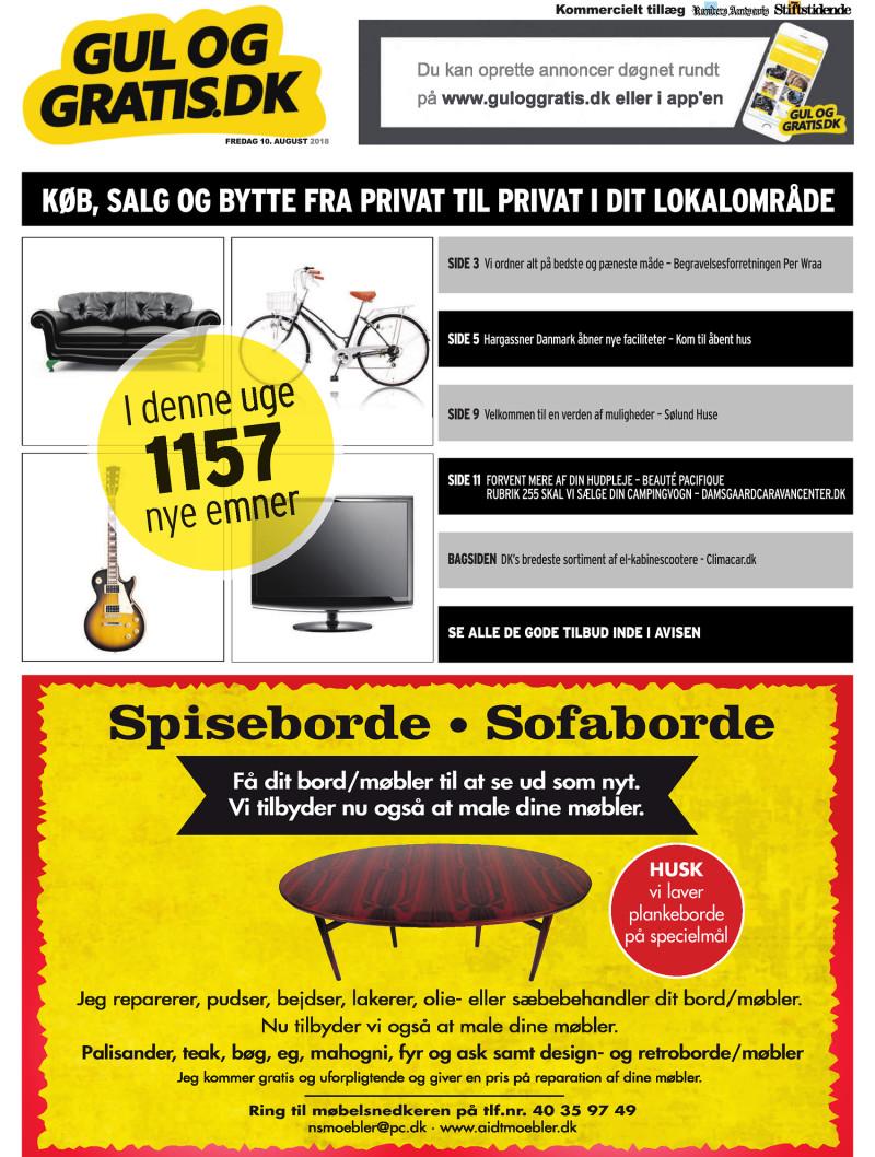 507add47aa4 Gul og Gratis - Aarhus Stifstidende - 10-08-2018