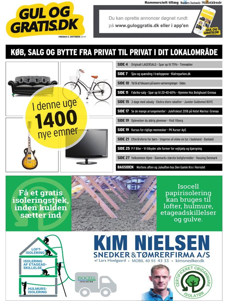 3e344c87a65 Gul og Gratis - Aarhus Stifstidende - 05-10-2018