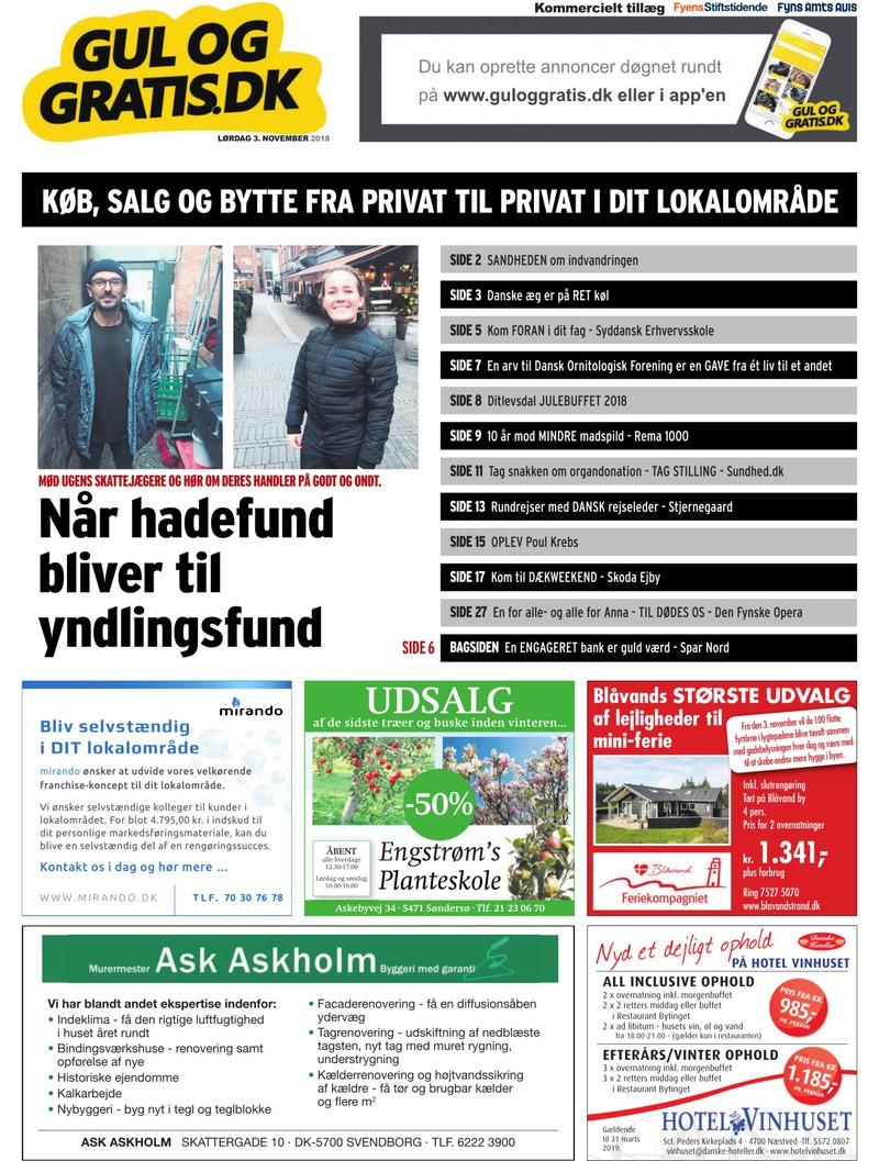 a5710836bf2 Gul og Gratis - Fyens Stiftstidende - 03.11.2018