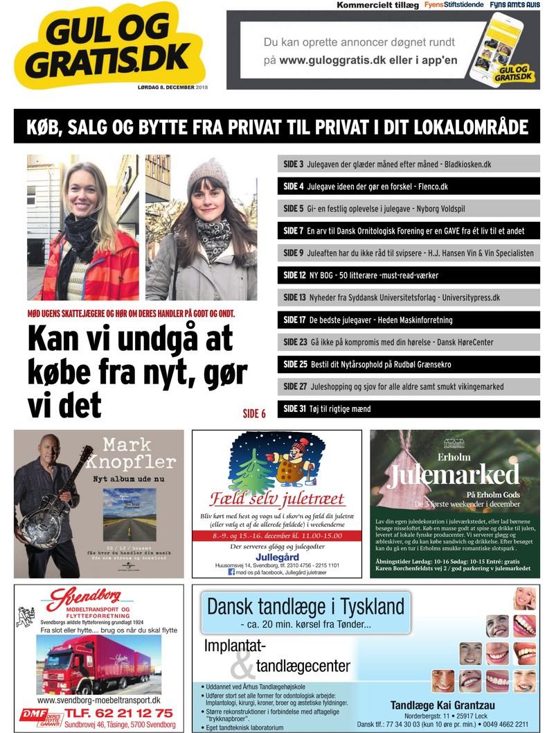 9a5323ce954 Gul og Gratis - Fyens Stiftstidende - 08.12.2018
