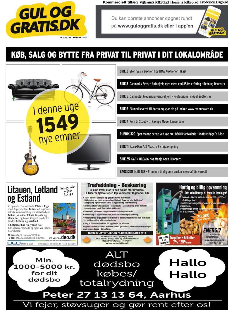 9bb479444360 Gul og Gratis - Vejle Amtsfolkeblad - 18-01-2019