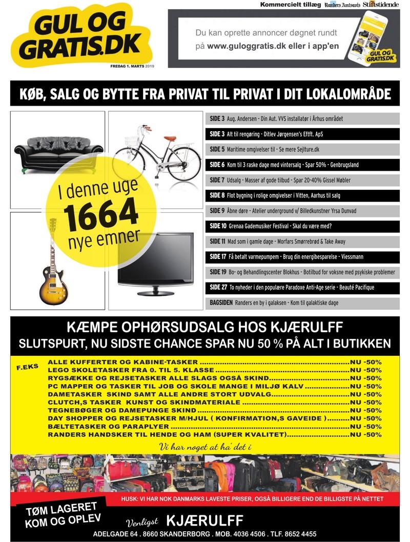 4ba738d8 Gul og Gratis - Aarhus Stifstidende - 01-03-2019