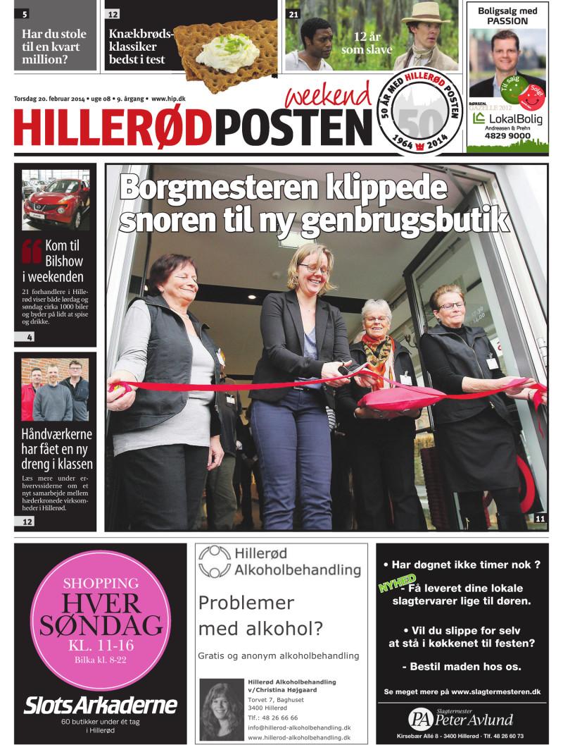 Lokalavisen.dk Hillerød Posten Weekend Uge 08
