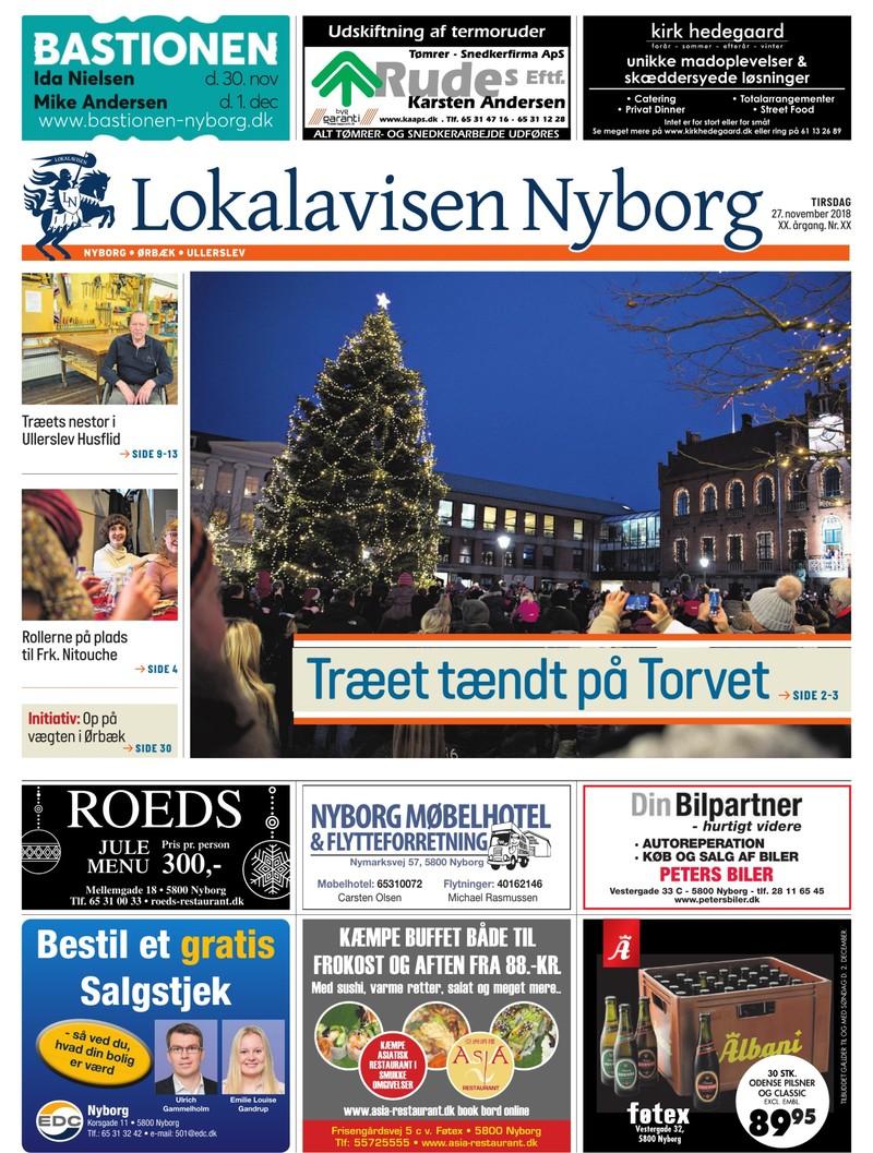 Lokalavisen Nyborg 27 11 2018