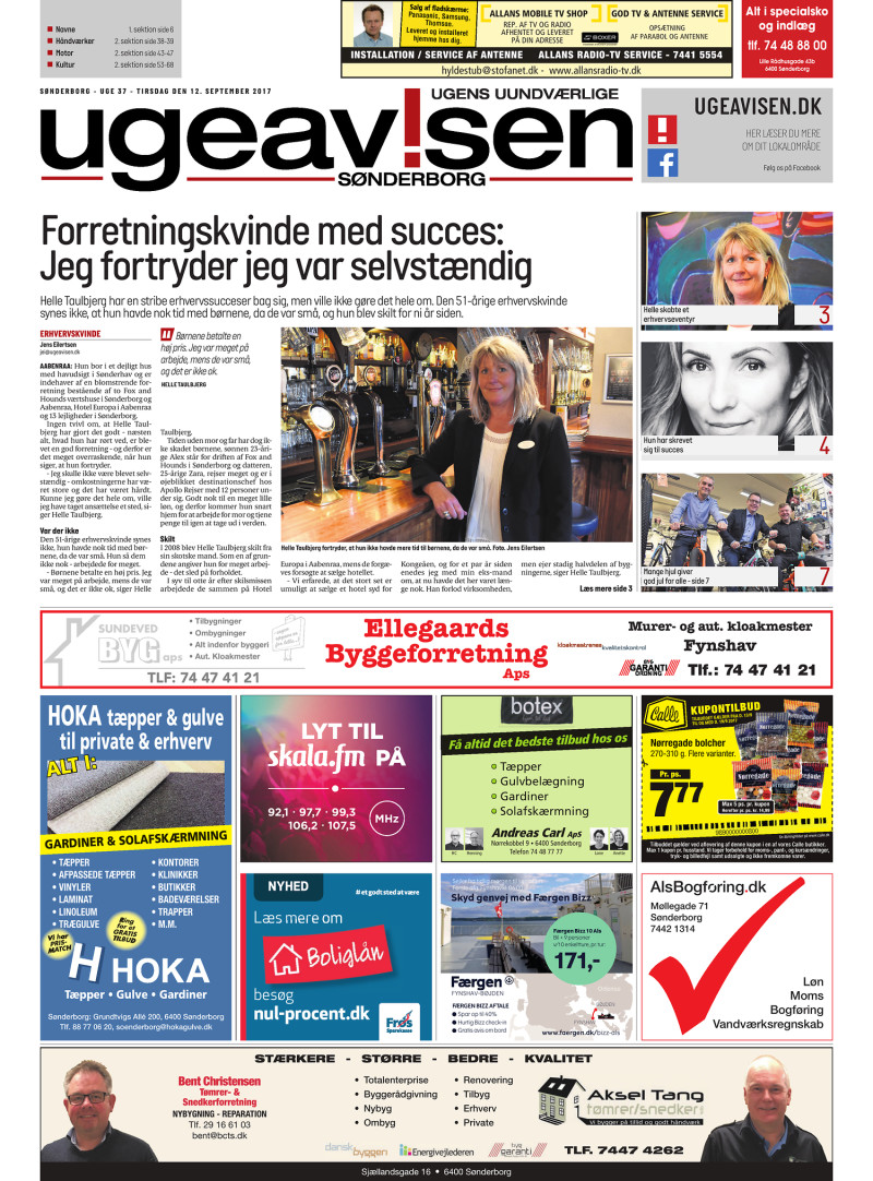 Sonderborg Ugeavis 12 09 2017