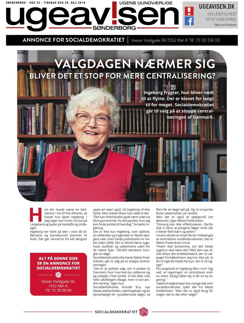 94ec50dcfe8 Sonderborg Ugeavis - 28-05-2019