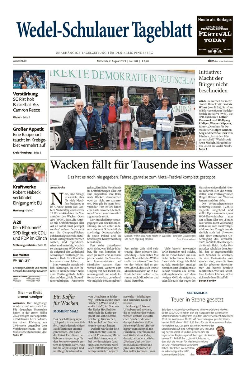 Wedel-Schulauer Tageblatt